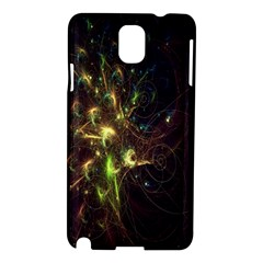 Fractal Flame Light Energy Samsung Galaxy Note 3 N9005 Hardshell Case