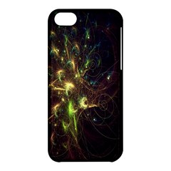 Fractal Flame Light Energy Apple iPhone 5C Hardshell Case