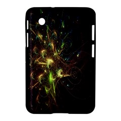 Fractal Flame Light Energy Samsung Galaxy Tab 2 (7 ) P3100 Hardshell Case