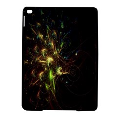 Fractal Flame Light Energy iPad Air 2 Hardshell Cases