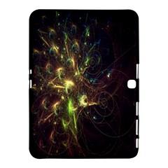 Fractal Flame Light Energy Samsung Galaxy Tab 4 (10.1 ) Hardshell Case