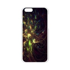 Fractal Flame Light Energy Apple Seamless iPhone 6/6S Case (Transparent)