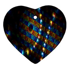 Fractal Fractal Art Digital Art  Ornament (Heart)