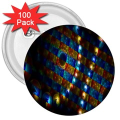 Fractal Fractal Art Digital Art  3  Buttons (100 pack)