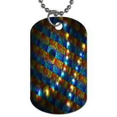 Fractal Fractal Art Digital Art  Dog Tag (One Side)