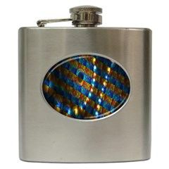 Fractal Fractal Art Digital Art  Hip Flask (6 oz)
