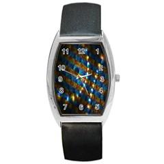 Fractal Fractal Art Digital Art  Barrel Style Metal Watch