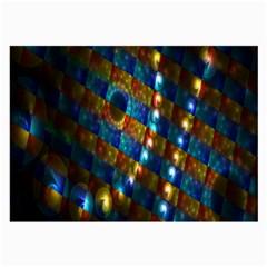 Fractal Fractal Art Digital Art  Large Glasses Cloth (2-Side)