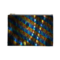 Fractal Fractal Art Digital Art  Cosmetic Bag (Large)