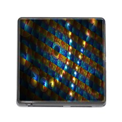Fractal Fractal Art Digital Art  Memory Card Reader (Square)