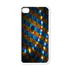 Fractal Fractal Art Digital Art  Apple iPhone 4 Case (White)