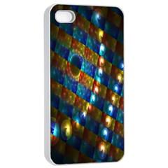 Fractal Fractal Art Digital Art  Apple iPhone 4/4s Seamless Case (White)