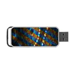 Fractal Fractal Art Digital Art  Portable USB Flash (Two Sides)