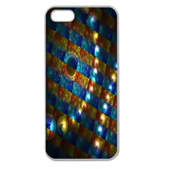 Fractal Fractal Art Digital Art  Apple Seamless iPhone 5 Case (Clear)