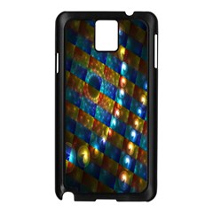 Fractal Fractal Art Digital Art  Samsung Galaxy Note 3 N9005 Case (Black)