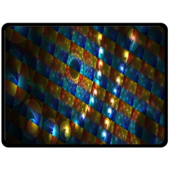 Fractal Fractal Art Digital Art  Double Sided Fleece Blanket (Large)