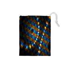 Fractal Fractal Art Digital Art  Drawstring Pouches (Small)