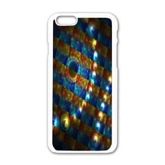 Fractal Fractal Art Digital Art  Apple iPhone 6/6S White Enamel Case