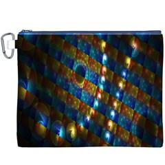 Fractal Fractal Art Digital Art  Canvas Cosmetic Bag (XXXL)