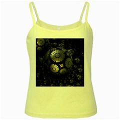 Fractal Sphere Steel 3d Structures  Yellow Spaghetti Tank