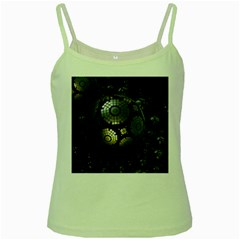 Fractal Sphere Steel 3d Structures  Green Spaghetti Tank