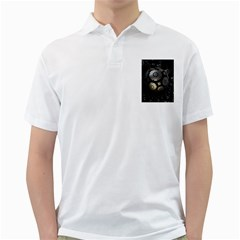 Fractal Sphere Steel 3d Structures  Golf Shirts