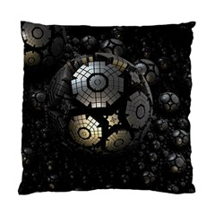 Fractal Sphere Steel 3d Structures  Standard Cushion Case (Two Sides)