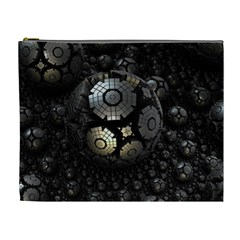 Fractal Sphere Steel 3d Structures  Cosmetic Bag (XL)