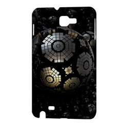 Fractal Sphere Steel 3d Structures  Samsung Galaxy Note 1 Hardshell Case