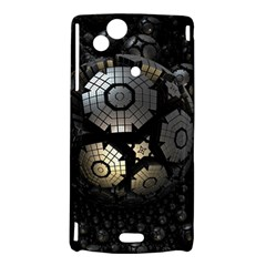 Fractal Sphere Steel 3d Structures  Sony Xperia Arc