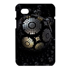 Fractal Sphere Steel 3d Structures  Samsung Galaxy Tab 7  P1000 Hardshell Case