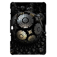 Fractal Sphere Steel 3d Structures  Samsung Galaxy Tab 10.1  P7500 Hardshell Case