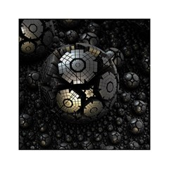 Fractal Sphere Steel 3d Structures  Acrylic Tangram Puzzle (6  x 6 )