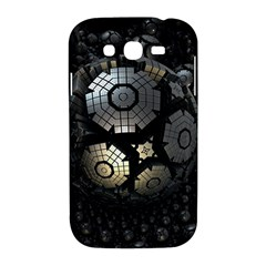 Fractal Sphere Steel 3d Structures  Samsung Galaxy Grand DUOS I9082 Hardshell Case