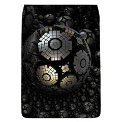 Fractal Sphere Steel 3d Structures  Flap Covers (L)