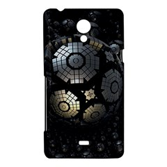 Fractal Sphere Steel 3d Structures  Sony Xperia T