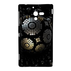 Fractal Sphere Steel 3d Structures  Sony Xperia ZL (L35H)