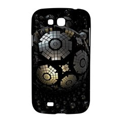 Fractal Sphere Steel 3d Structures  Samsung Galaxy Grand GT-I9128 Hardshell Case