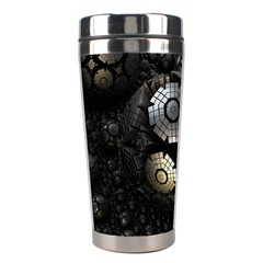 Fractal Sphere Steel 3d Structures  Stainless Steel Travel Tumblers