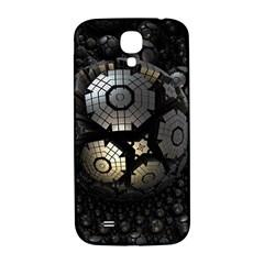 Fractal Sphere Steel 3d Structures  Samsung Galaxy S4 I9500/I9505  Hardshell Back Case