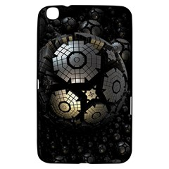 Fractal Sphere Steel 3d Structures  Samsung Galaxy Tab 3 (8 ) T3100 Hardshell Case