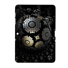 Fractal Sphere Steel 3d Structures  Samsung Galaxy Tab 2 (10.1 ) P5100 Hardshell Case