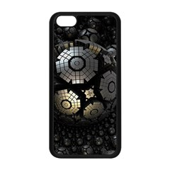 Fractal Sphere Steel 3d Structures  Apple iPhone 5C Seamless Case (Black)