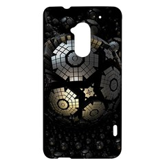 Fractal Sphere Steel 3d Structures  HTC One Max (T6) Hardshell Case