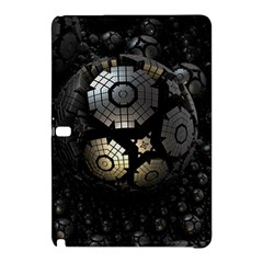 Fractal Sphere Steel 3d Structures  Samsung Galaxy Tab Pro 10.1 Hardshell Case