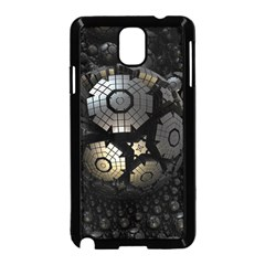 Fractal Sphere Steel 3d Structures  Samsung Galaxy Note 3 Neo Hardshell Case (Black)