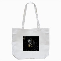 Fractal Sphere Steel 3d Structures  Tote Bag (White)