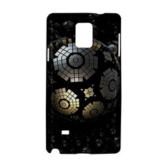 Fractal Sphere Steel 3d Structures  Samsung Galaxy Note 4 Hardshell Case