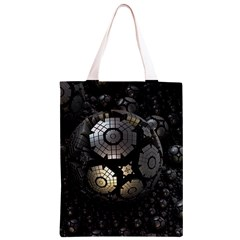 Fractal Sphere Steel 3d Structures  Classic Light Tote Bag