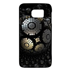 Fractal Sphere Steel 3d Structures  Galaxy S6